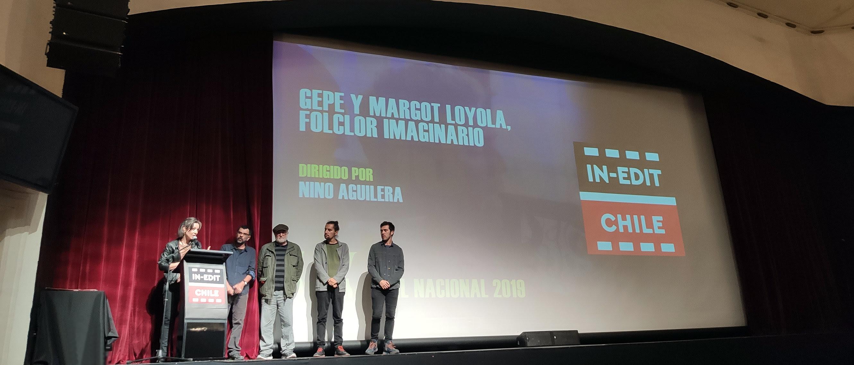 """""""Gepe y Margot Loyola: Folclor Imaginario"""" triunfa en In Edit Chile 2019"""