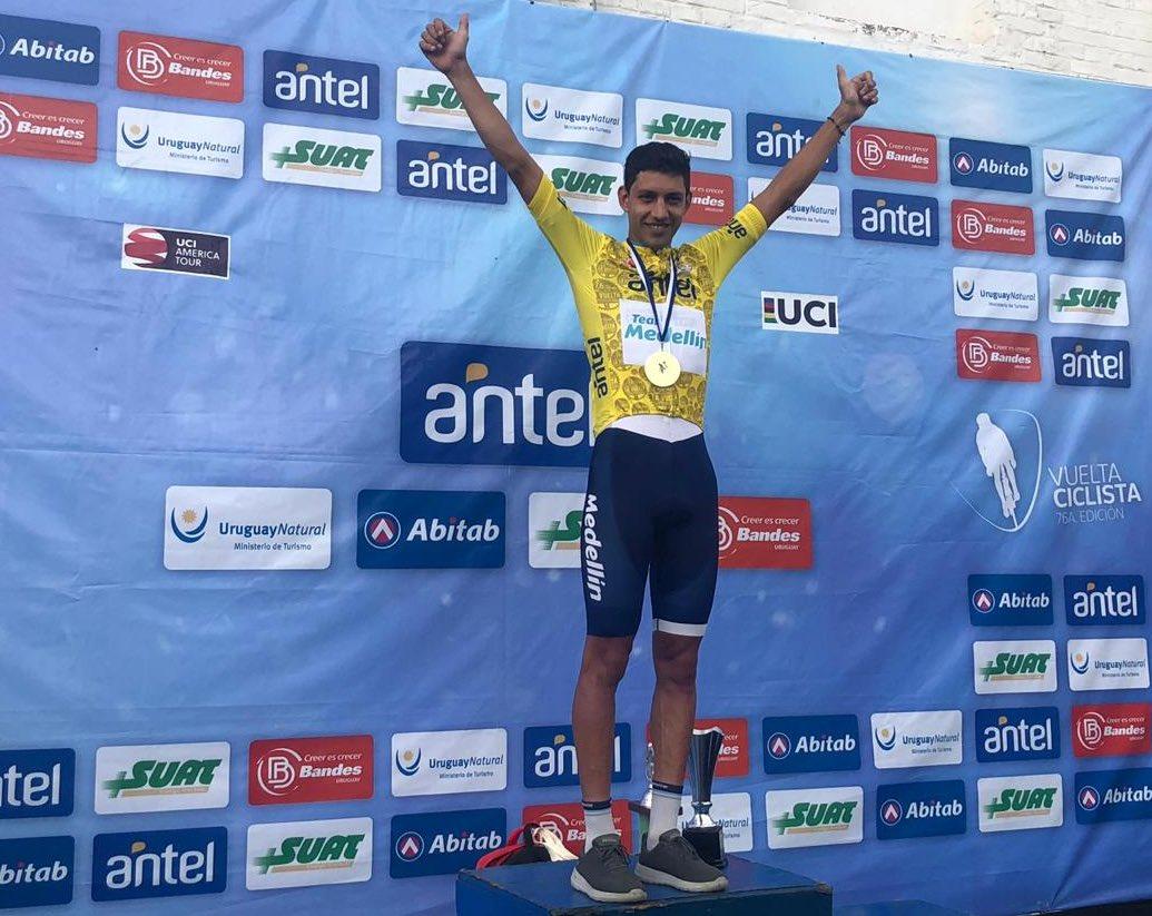 Colombiano Walter Vargas gana Vuelta Ciclística a Uruguay