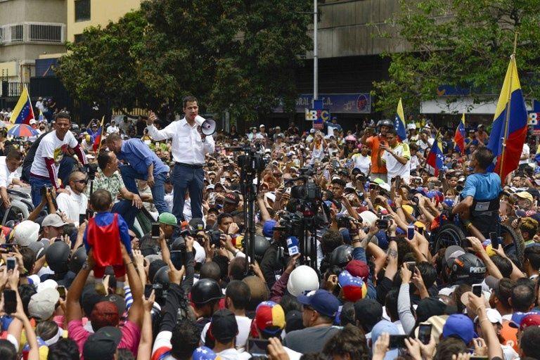 """Trump sobre oposición venezolana: """"Nosotros podemos ir y ayudarle un poco o quizás mucho"""""""
