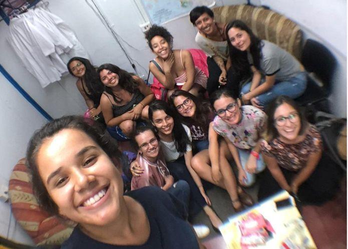 Estudiantes universitarias UCR. Foto web