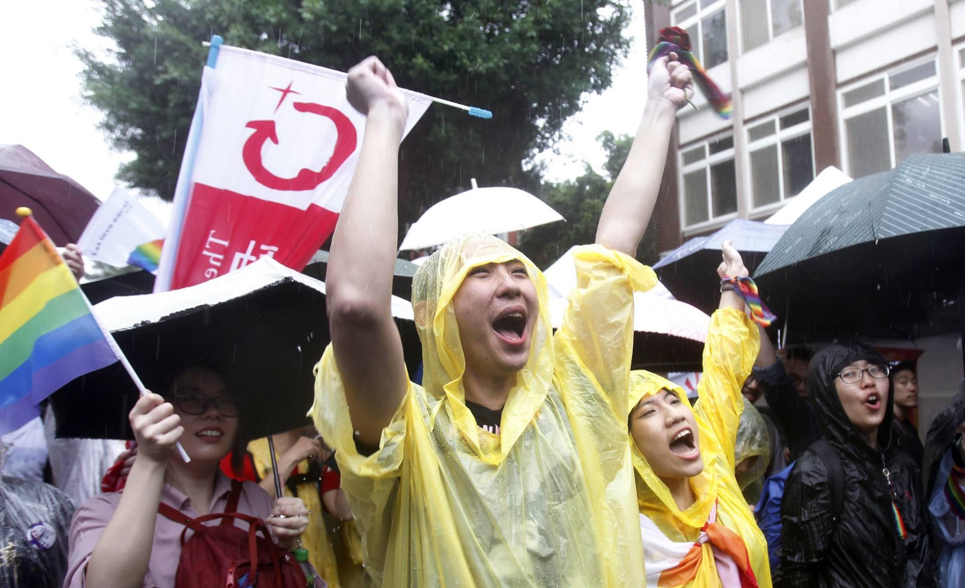 Taiwán, el primer país de Asia que legaliza el matrimonio homosexual