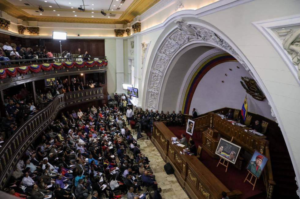 Asamblea Constituyente de Venezuela extiende su mandato hasta diciembre de 2020