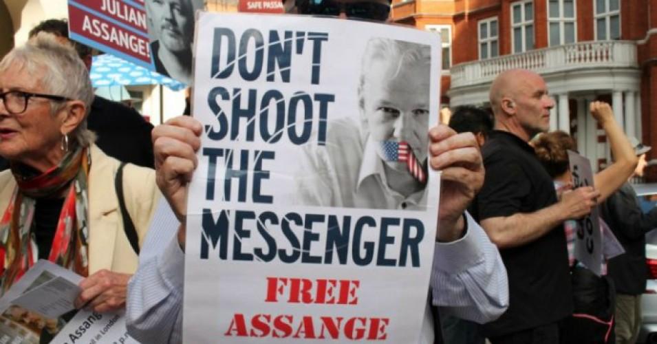 ¿Fin de la libertad de expresión en el mundo?: EE. UU. pide 170 años de prisión para Assange