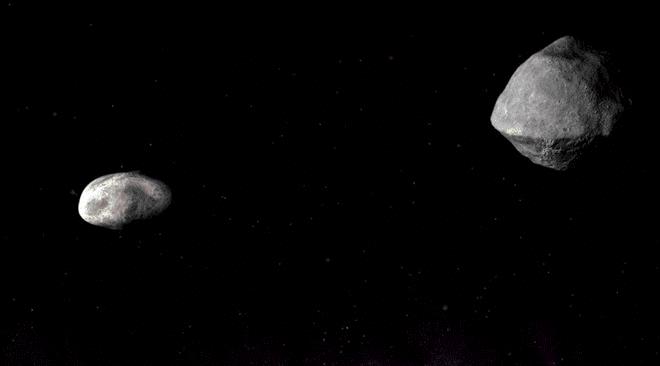 Un asteroide gigante y su luna pasaron muy cerca de la Tierra