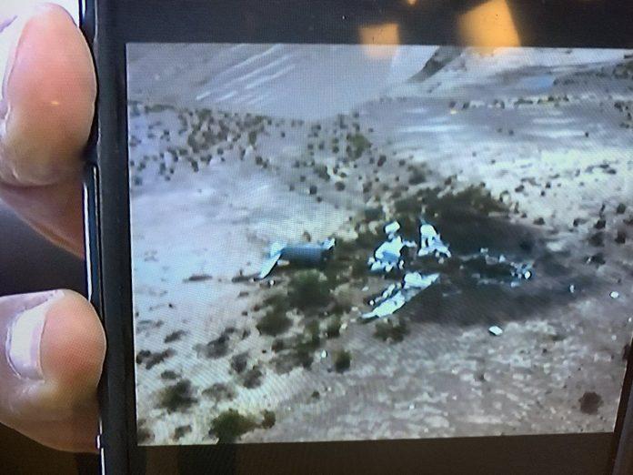Hallan siniestrado avión desaparecido en México procedente de EE. UU.