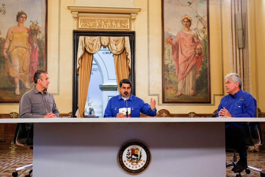"""Maduro responsabiliza a Trump por """"grave violación"""" en la embajada venezolana en EE. UU."""