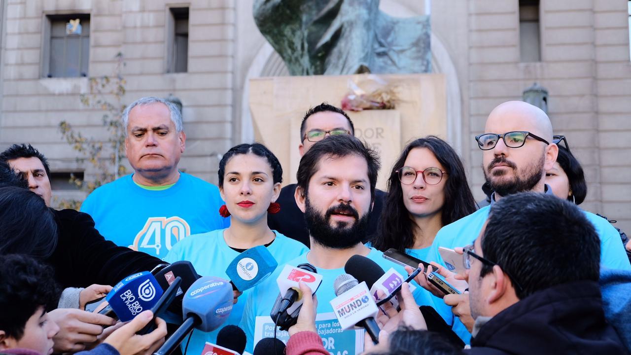 """""""El trabajo tiene que ser decente y digno"""": Diputados informan a la ciudadanía sobre proyecto de las 40 horas"""