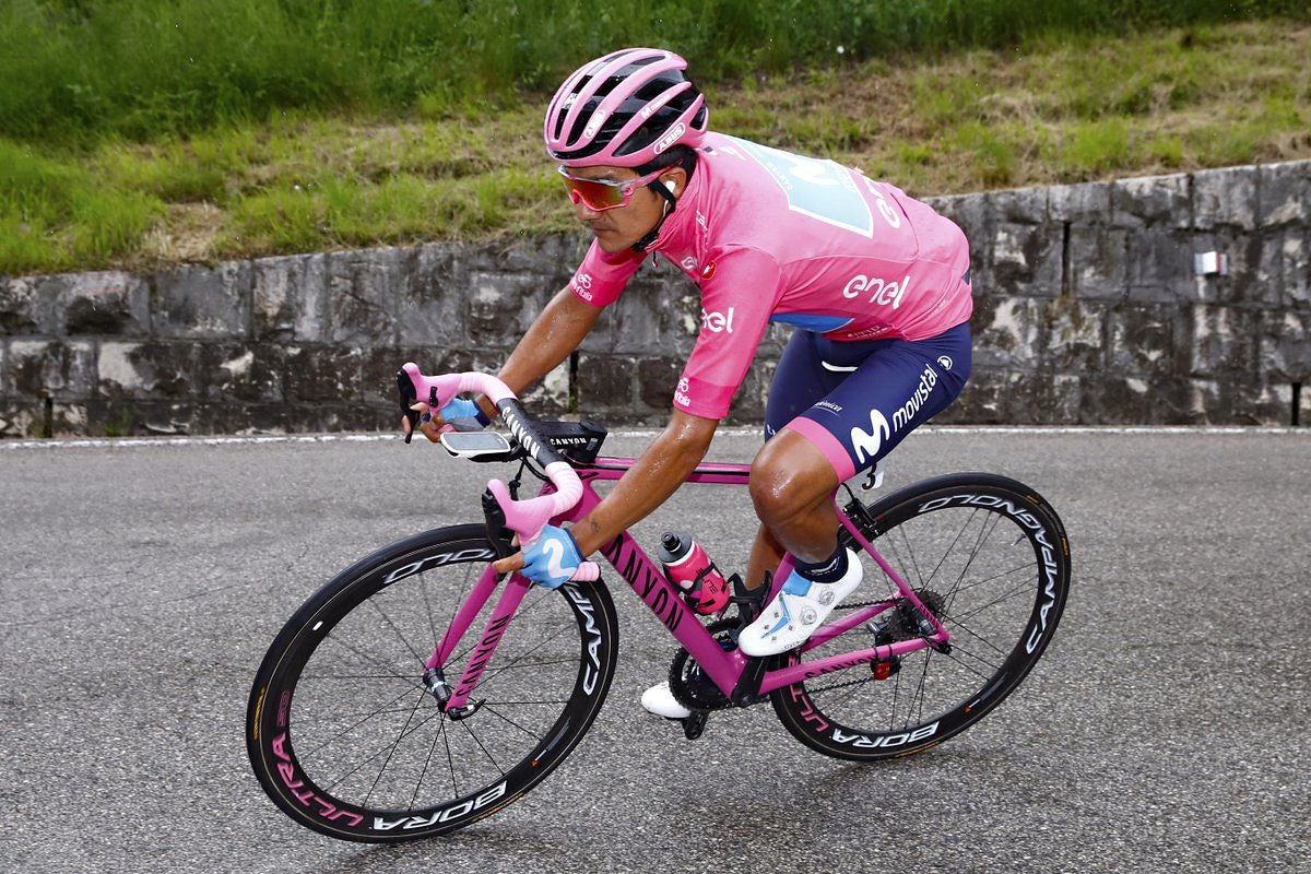 Richard Carapaz apostará a todo por conquistar la montaña y alzarse con el Giro de Italia 2019