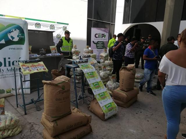 Desmantelan fábrica clandestina de leche en polvo en Colombia