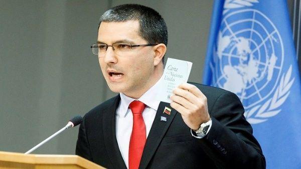 Venezuela denuncia que Estados Unidos viola la Carta de Naciones Unidas