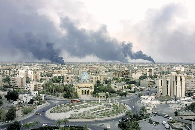 Un cohete explotó cerca de la embajada de Estados Unidos en Bagdad