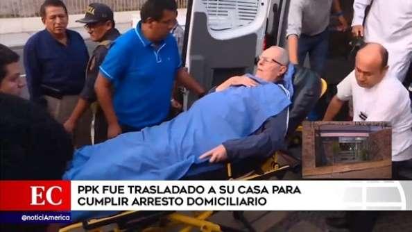 (VIDEO) Expresidente peruano PPK cumplirá arresto domiciliario tras complicación de salud