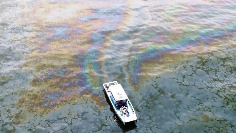 EEUU: Recién están controlando una fuga de petróleo de 14 años en el Golfo de México