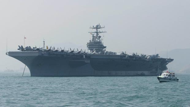 EE. UU. despliega un portaviones en el golfo Pérsico en medio de amenazas a Irán