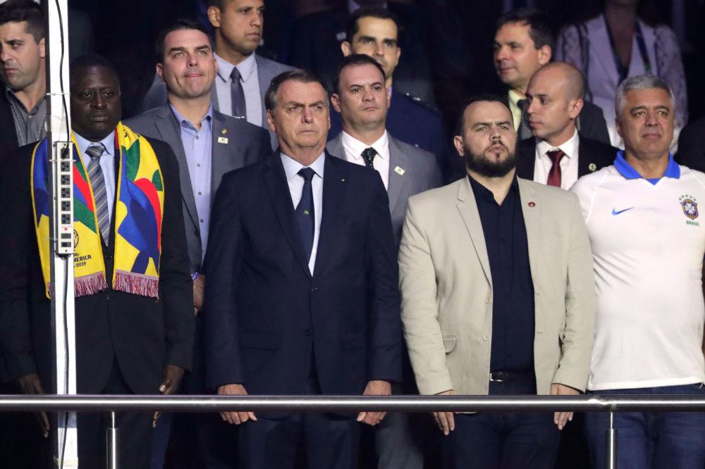 En Brasil se dio el pitazo inicial de la Copa América en medio de protestas contra Bolsonaro