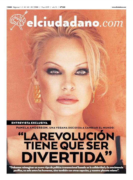 Pamela Anderson: La revolución tiene que ser divertida