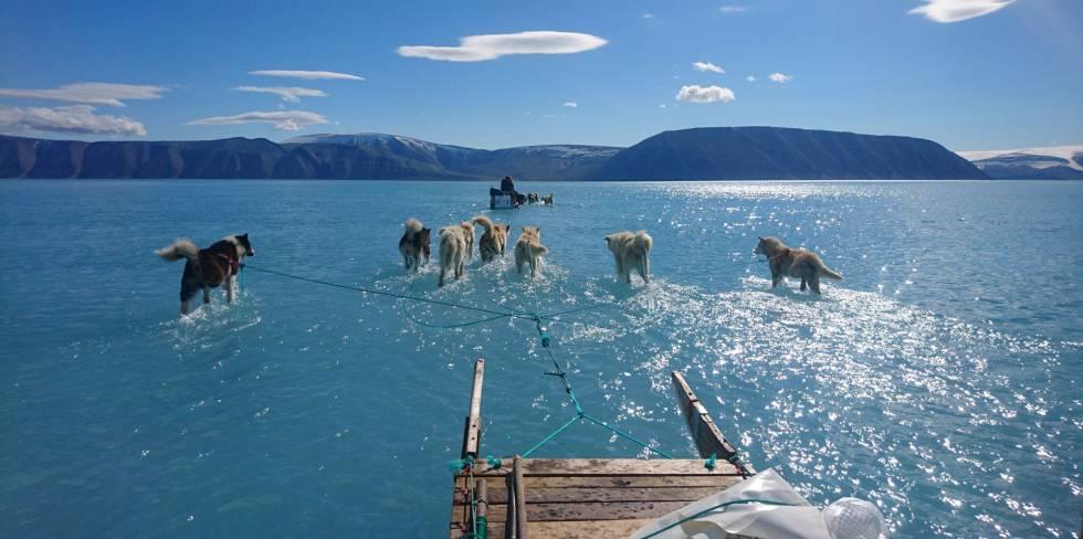 Groenlandia sufre el mayor deshielo de los últimos 30 años
