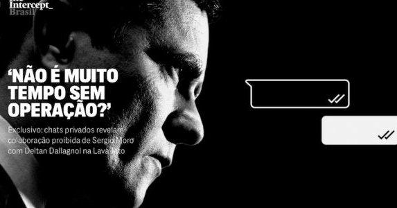 The Intercept (IV): Chats privados revelan colaboración prohibida de Sergio Moro en caso Lava Jato