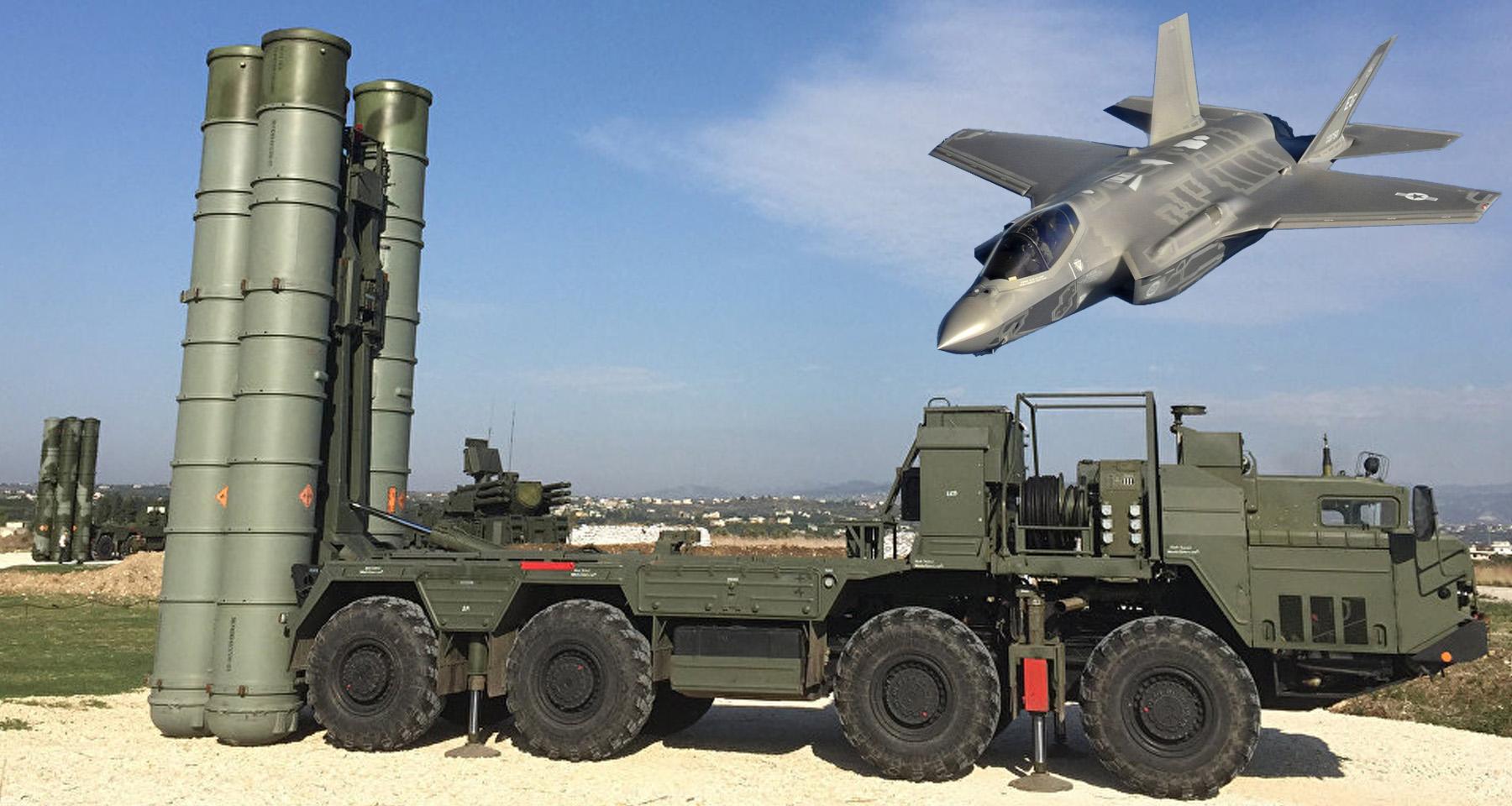 Preocupa que el sistema antiaéreo S-400 analice capacidad del caza F-35 estadounidense