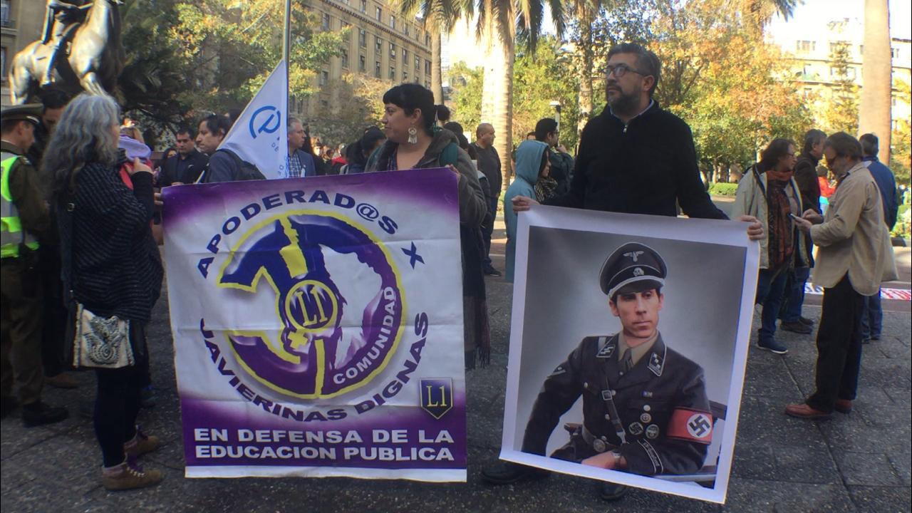 Red Contra la Represión a Estudiantes denuncia actuar del Gobierno y alcaldía de Santiago