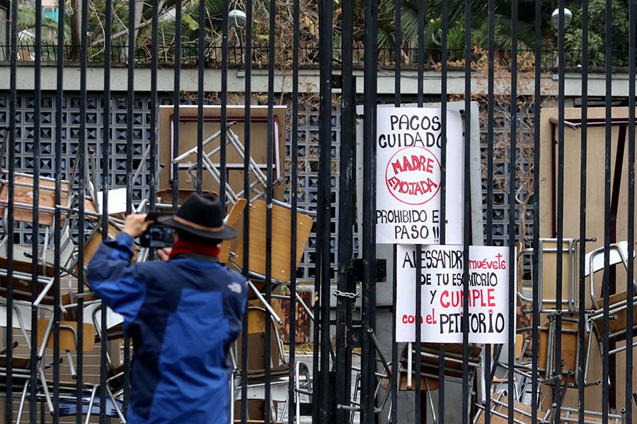 "Alcalde Alessandri no descarta desalojo del Instituto Nacional: ""Eso es mandato legal"""
