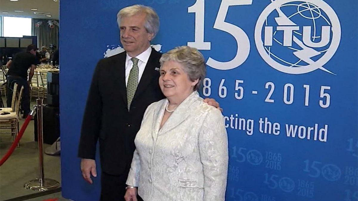 Fallece la esposa del presidente uruguayo Tabaré Vázquez