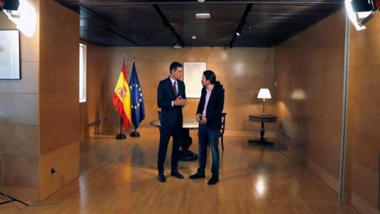 Sánchez insiste en pedir un paso atrás a Iglesias para formar un gobierno de coalición
