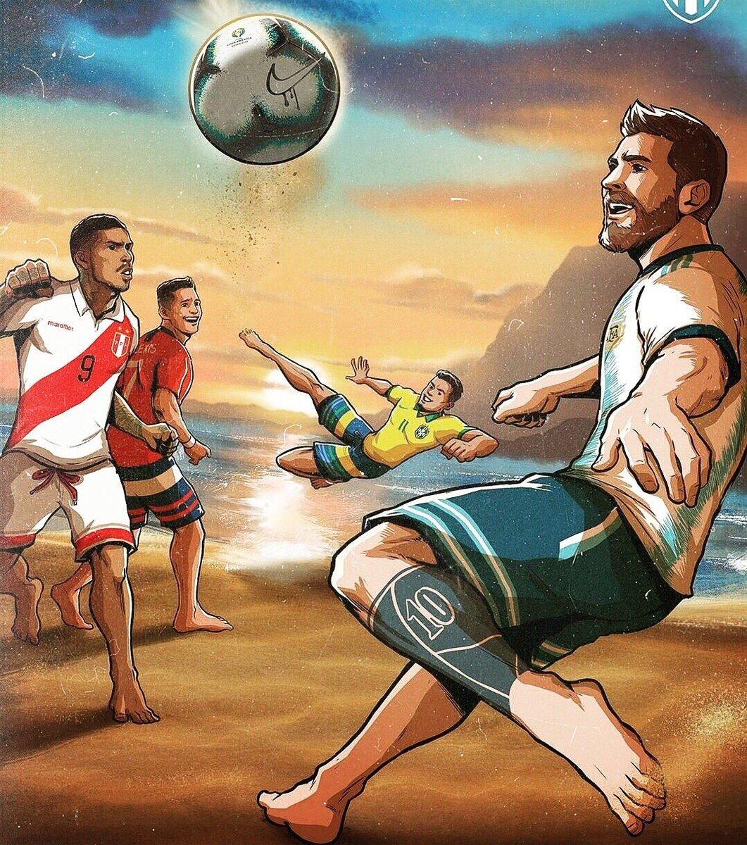 Dos clásicos se verán en la semifinal de la Copa América 2019