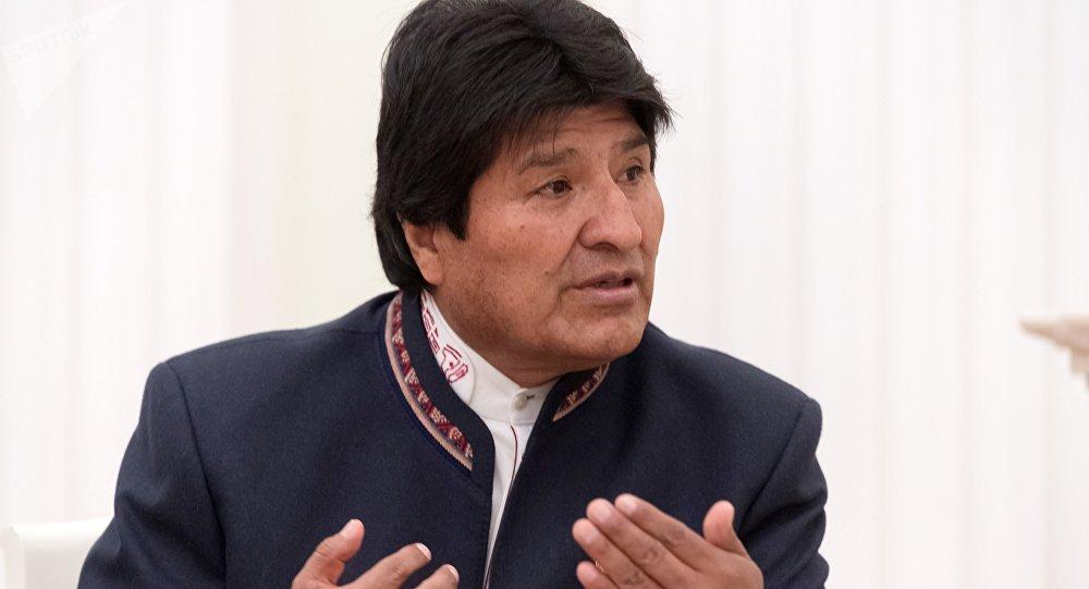Evo Morales instó a Trump a que reflexione sobre la situación política y social del mundo