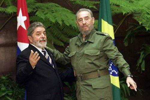 Fidel Castro y Lula da Silva los ideólogos del Foro de Sao Paulo