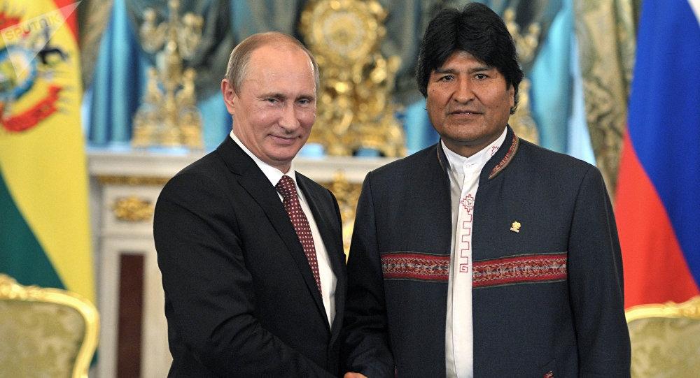 Putin y Evo afinan detalles para inaugurar el primer reactor nuclear de Bolivia