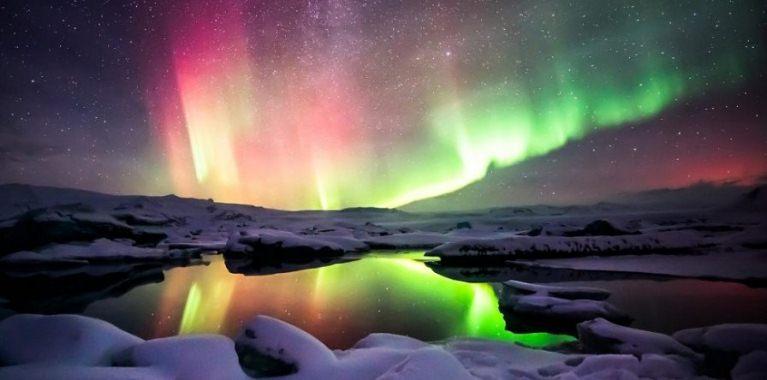 Si el polo norte magnético se está moviendo tan rápido ¿qué pasará con la aurora boreal?