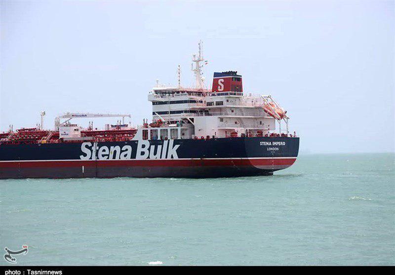 Irán muestra video del  petrolero británico incautado en el estrecho de Ormuz