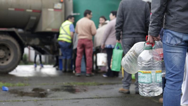 Tras Alerta Osorno: Se podría acabar stock de cloro para agua potable