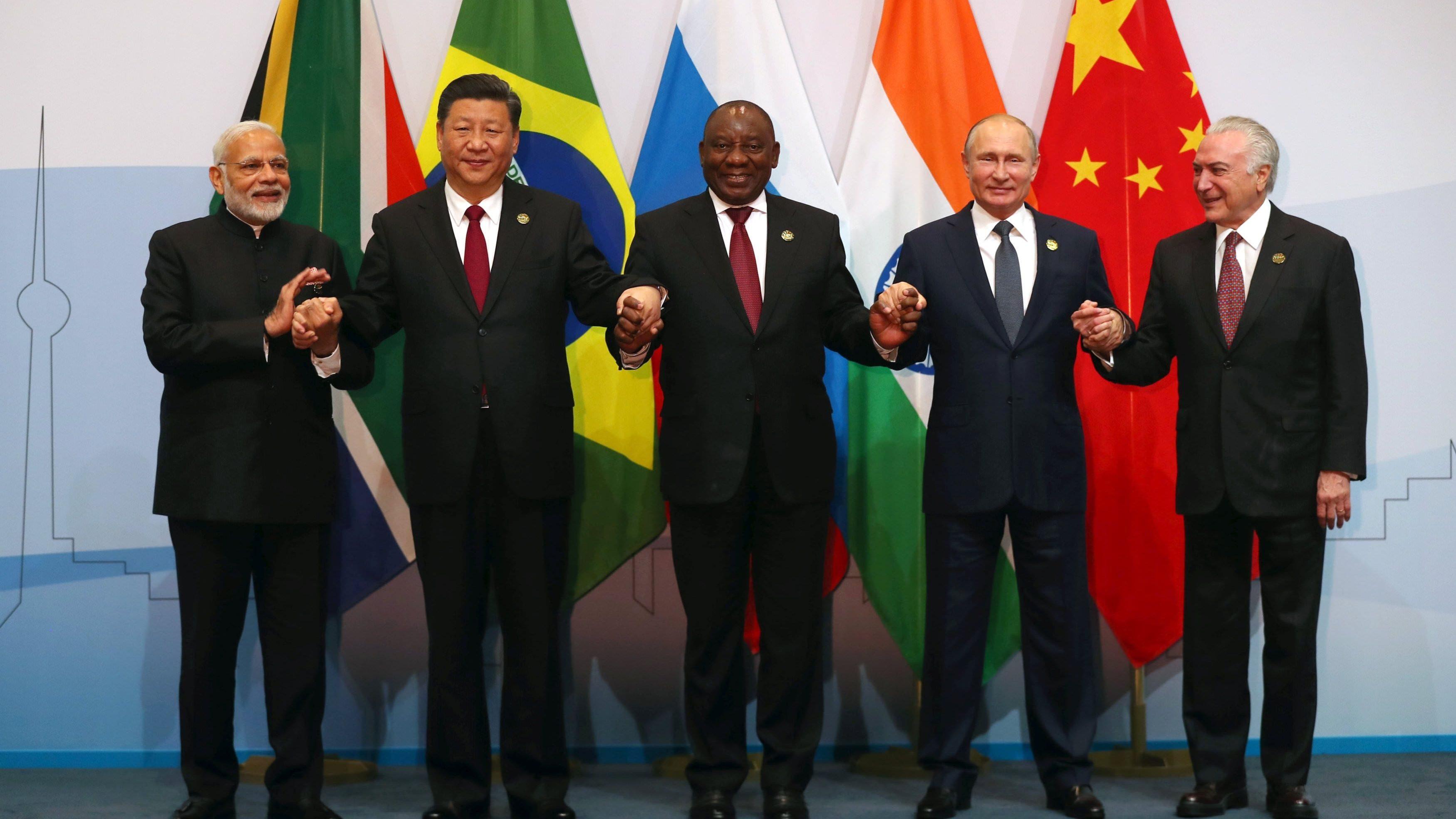 Declaración final de la reunión de ministros del grupo BRICS