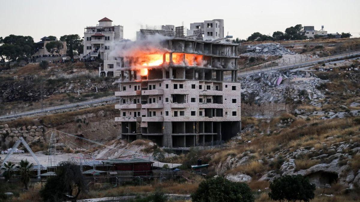 """Activistas palestinos denuncian que demoliciones  israelíes en Palestina son """"limpieza étnica"""""""