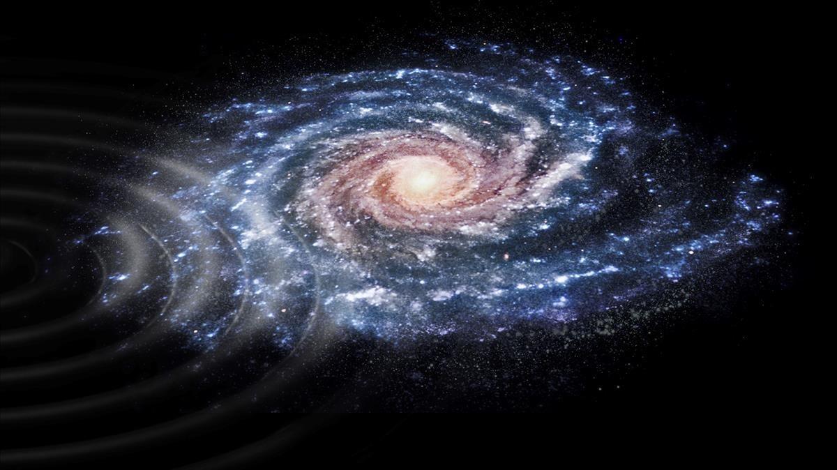 Modelo astronómico ubica a la Tierra en la periferia de la Vía Láctea
