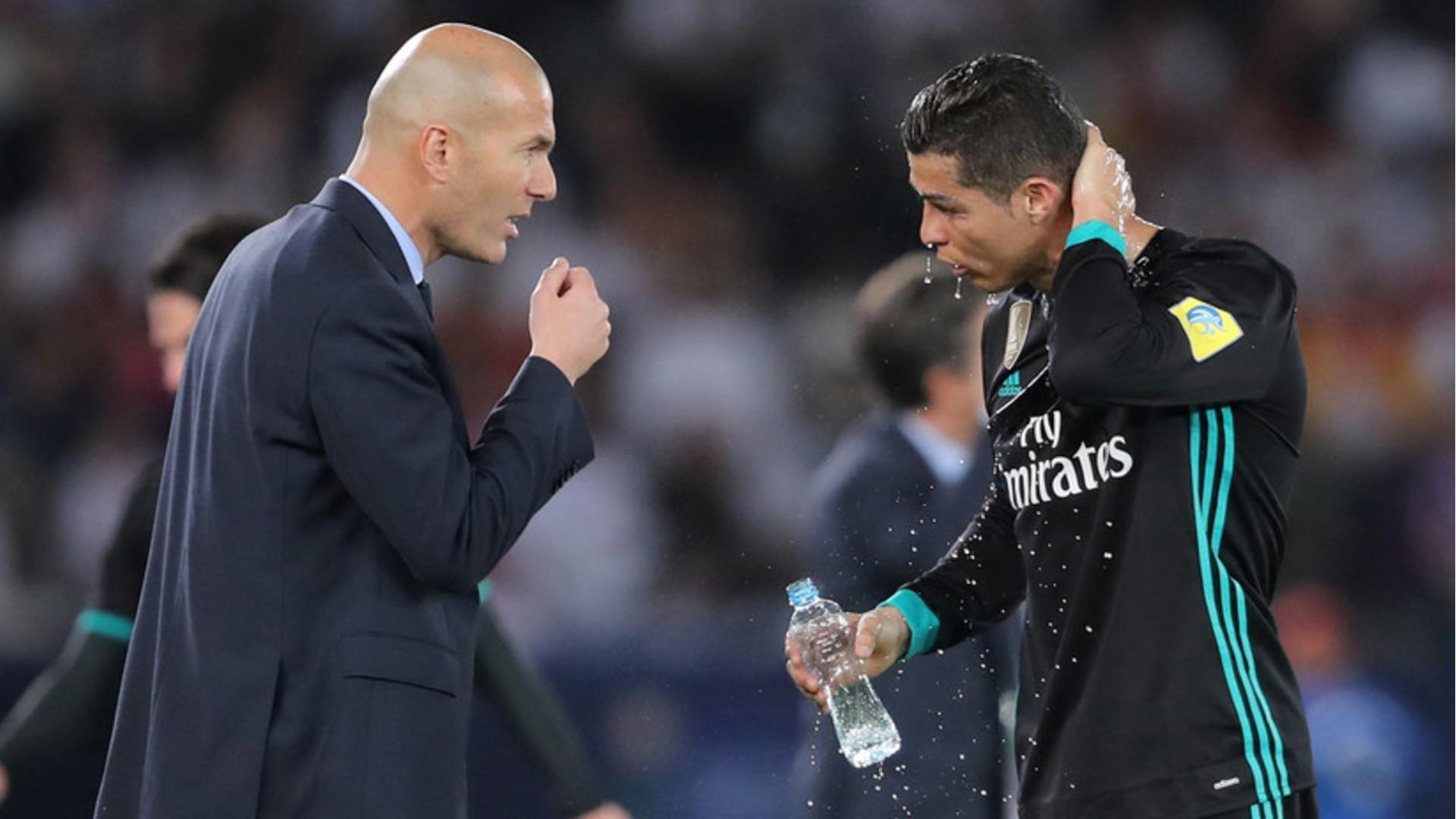 Cristiano Ronaldo declara admiración por Zidane en su paso por el Real Madrid
