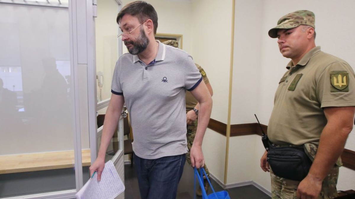 Resultado de imagen para jefe de la agencia de noticias RIA Novosti Ucrania