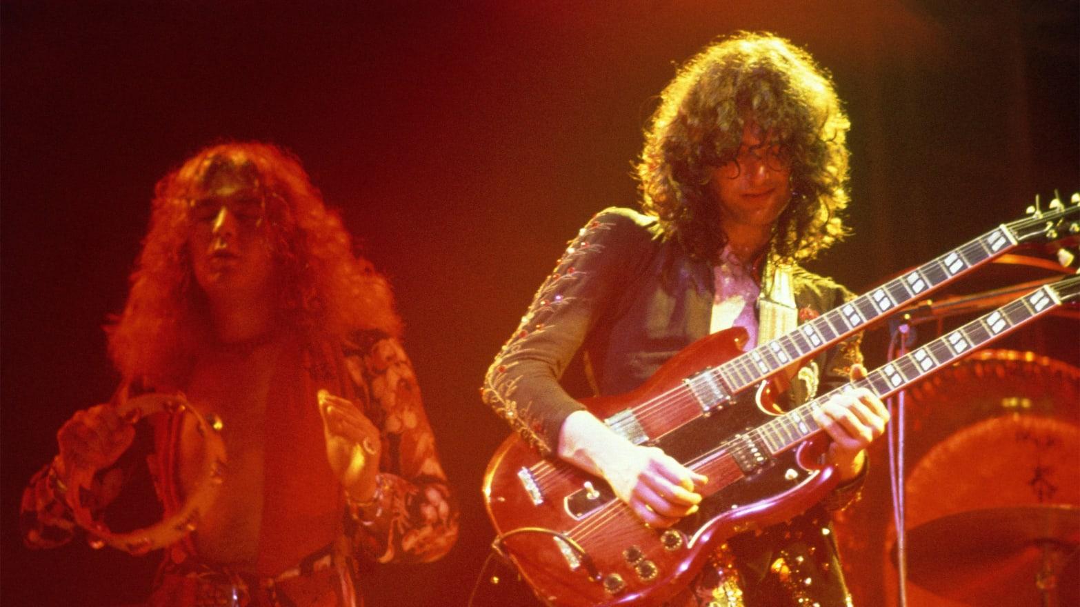 Jimmy Page, el virtuoso guitarrista que impulsó el éxito de Led Zeppelin a punta de plagios
