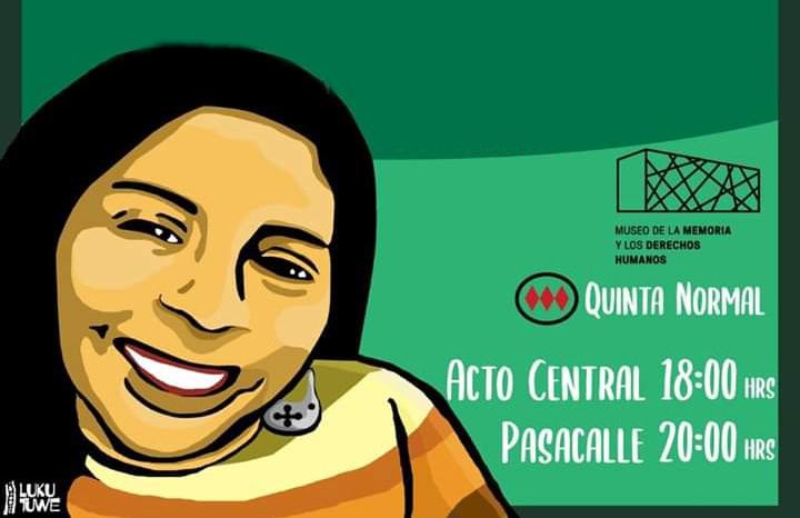 Macarena Valdés: Dedican jornada política y cultural a caso de activista en Museo de la Memoria