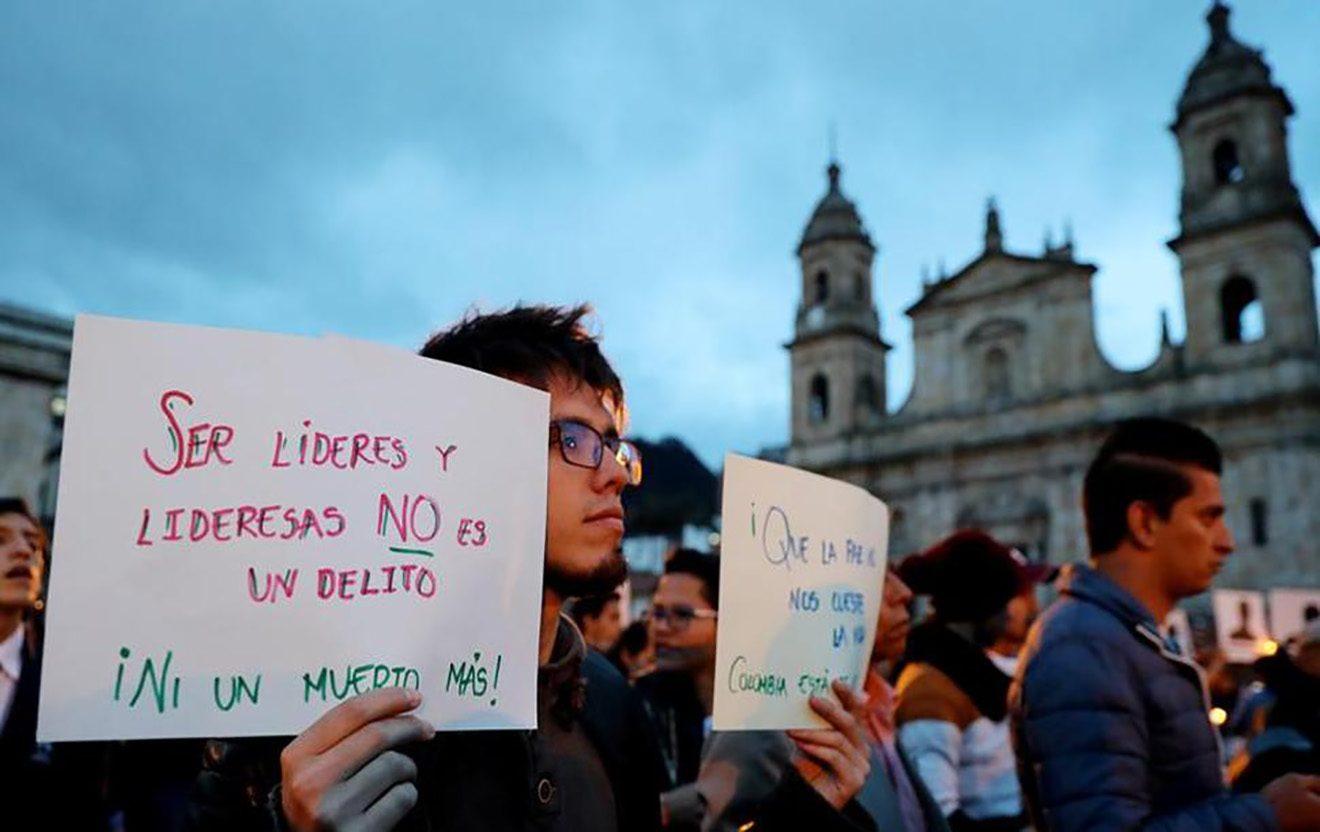¡La violencia no para en Colombia! Asesinado otro líder social