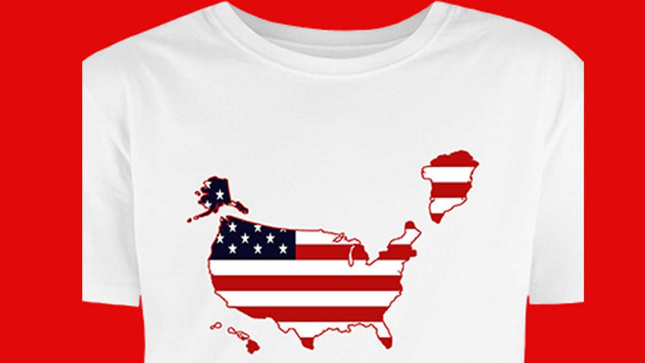 ¿Colonialismo? Comité del partido de Trump vende camisetas con la imagen de Groenlandia formando parte de EE. UU.