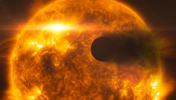 "Descubren un planeta de ""metal pesado"" y con forma de balón de fútbol"