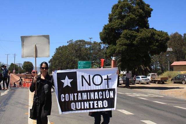 Greenpeace denuncia que AES Gener busca silenciar a vecinos de Quintero-Puchuncaví