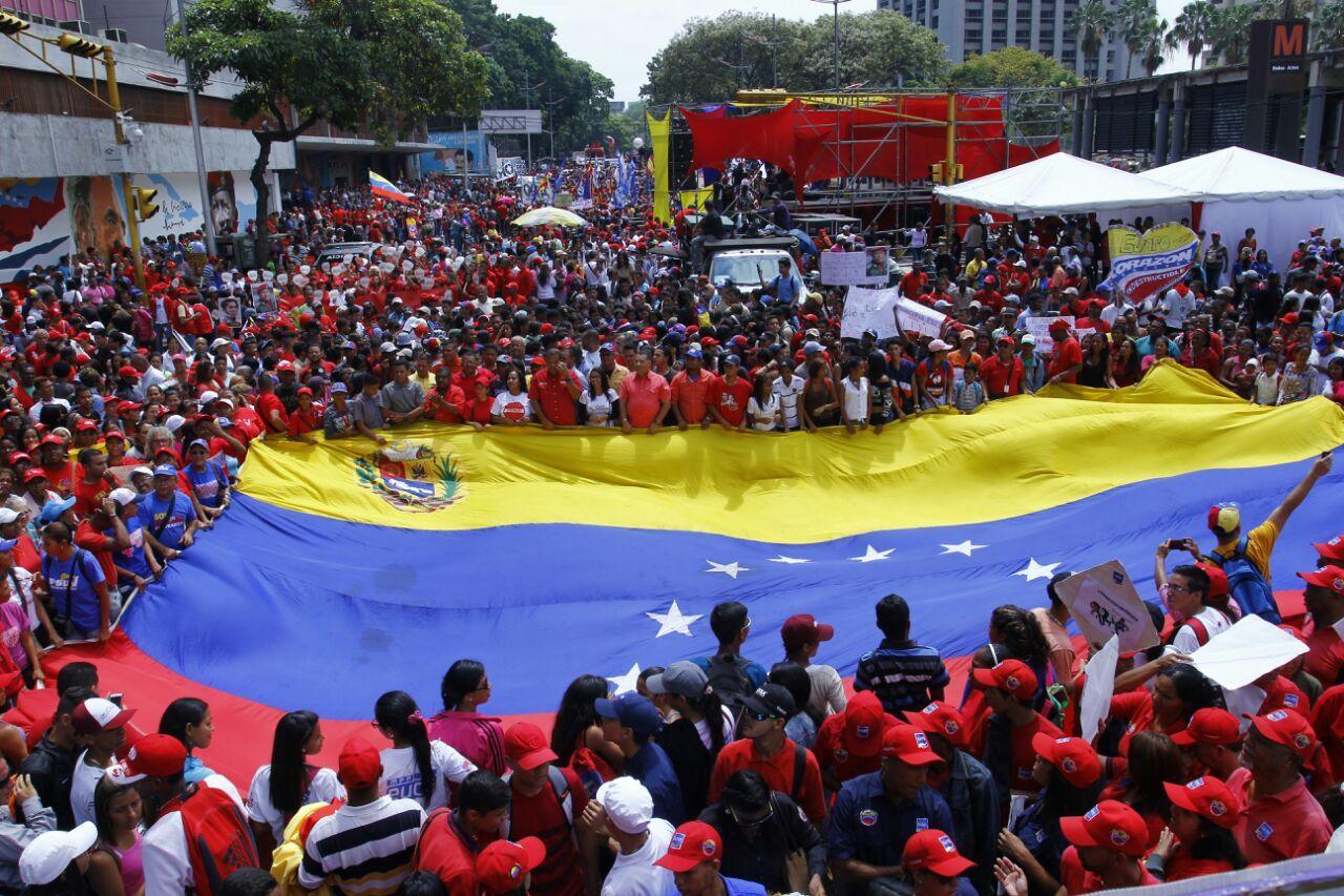 """""""¡No más Trump!"""": Este sábado se realizará una protesta mundial contra medidas unilaterales de EE. UU. hacia Venezuela"""