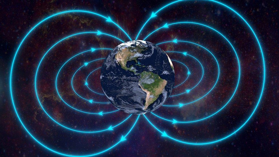 ¿Por qué el campo magnético de la tierra se volvió loco hace 800 mil años?