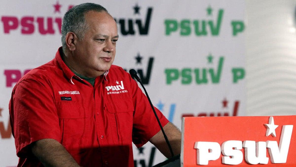 Diosdado Cabello: noticia sobre reunión con representante del Gobierno de  EE. UU. es una manipulación