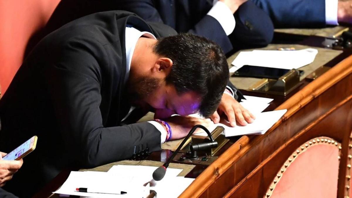 Presidente italiano empieza las consultas para buscar una salida a la crisis de Gobierno