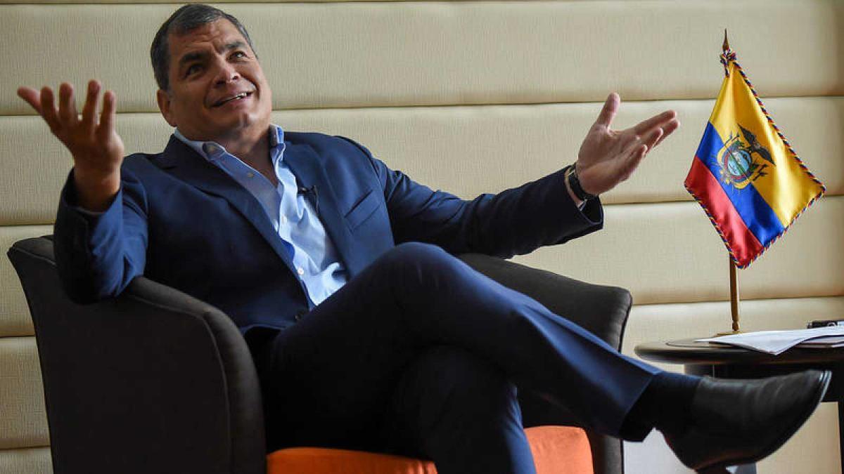 Tribunal de Ecuador ordena la detención de Rafael Correa